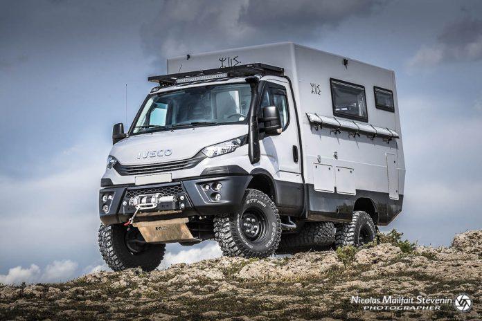 Cellule Azalai Truck sur Iveco Daily 4x4
