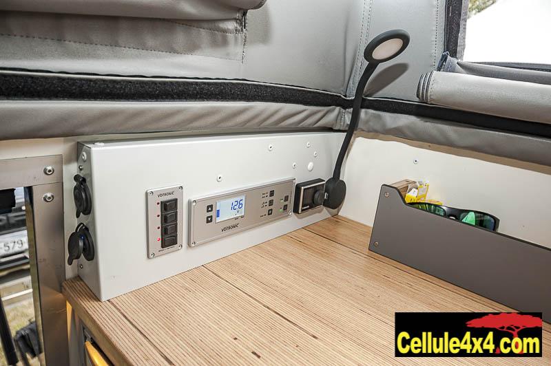 boitier de gestion électrique, gestion du chauffage, liseuse