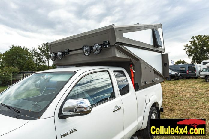 Cellule Cartech pour pick up à toit rigide