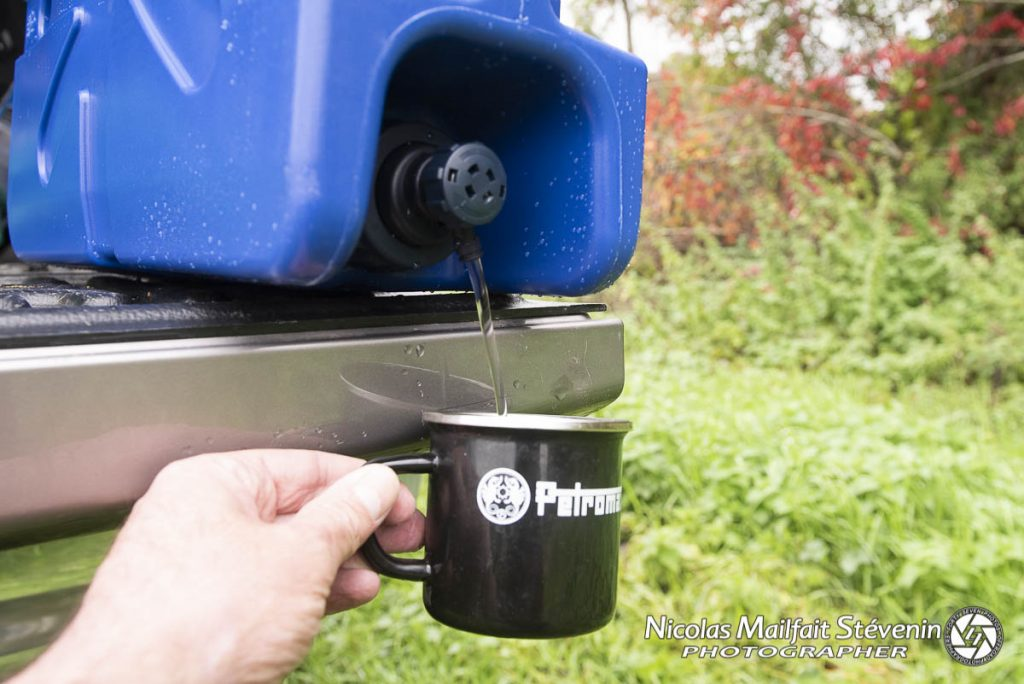 De l'au potable partout avec le Lifesaver
